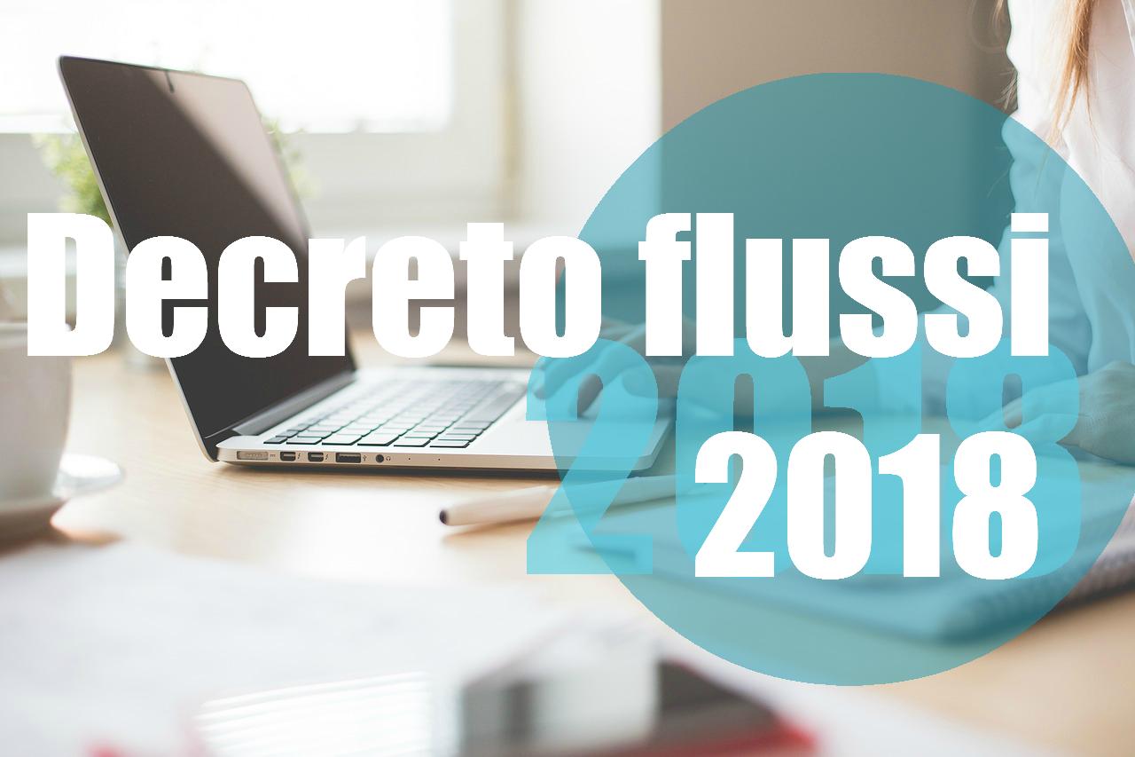 Decreto flussi 2018
