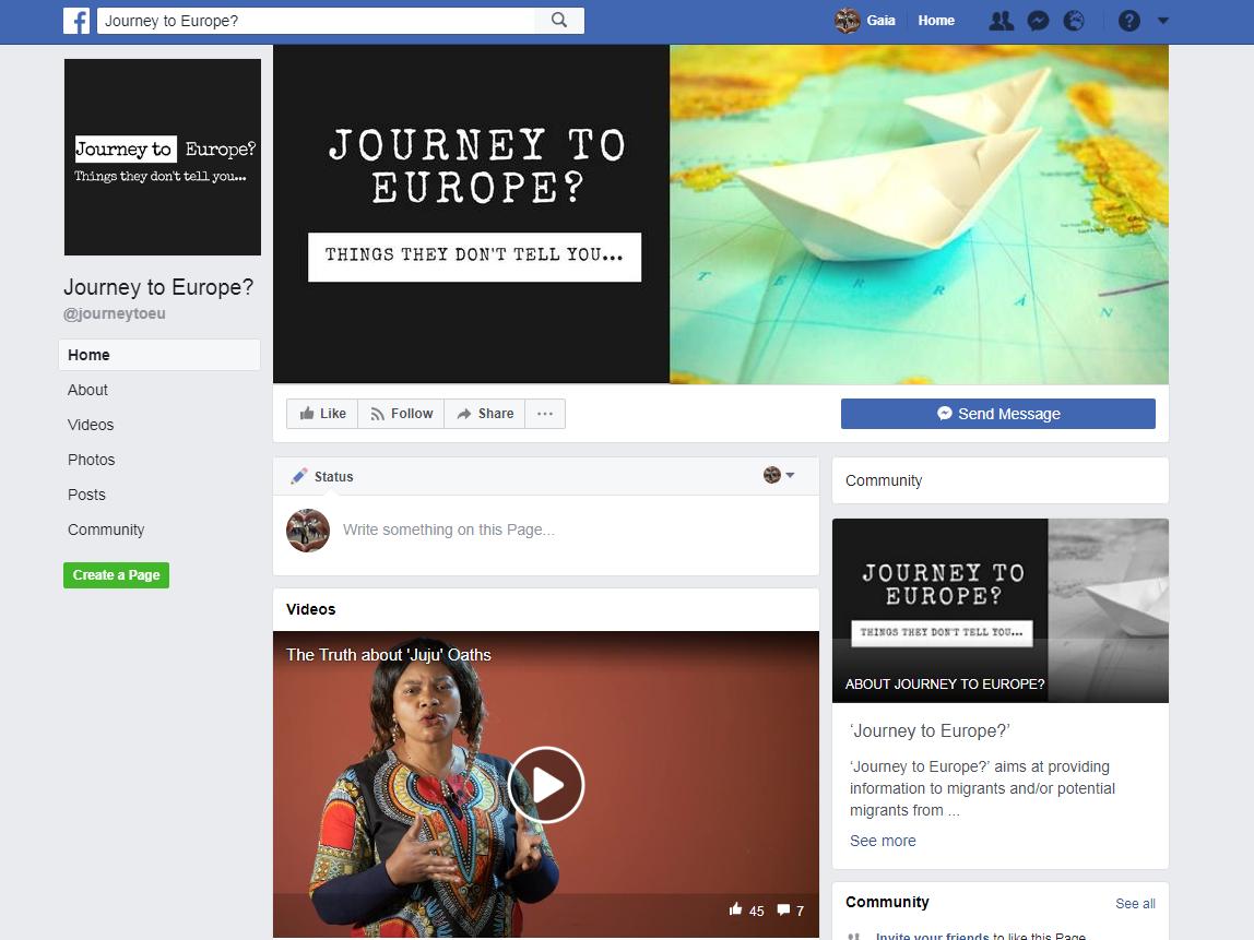 Pagina facebook EASO