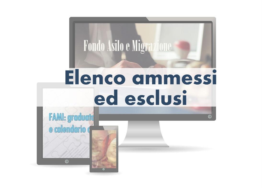 Pubblicato l'elenco degli ammessi ed esclusi al bando FAMI sulla comunicazione