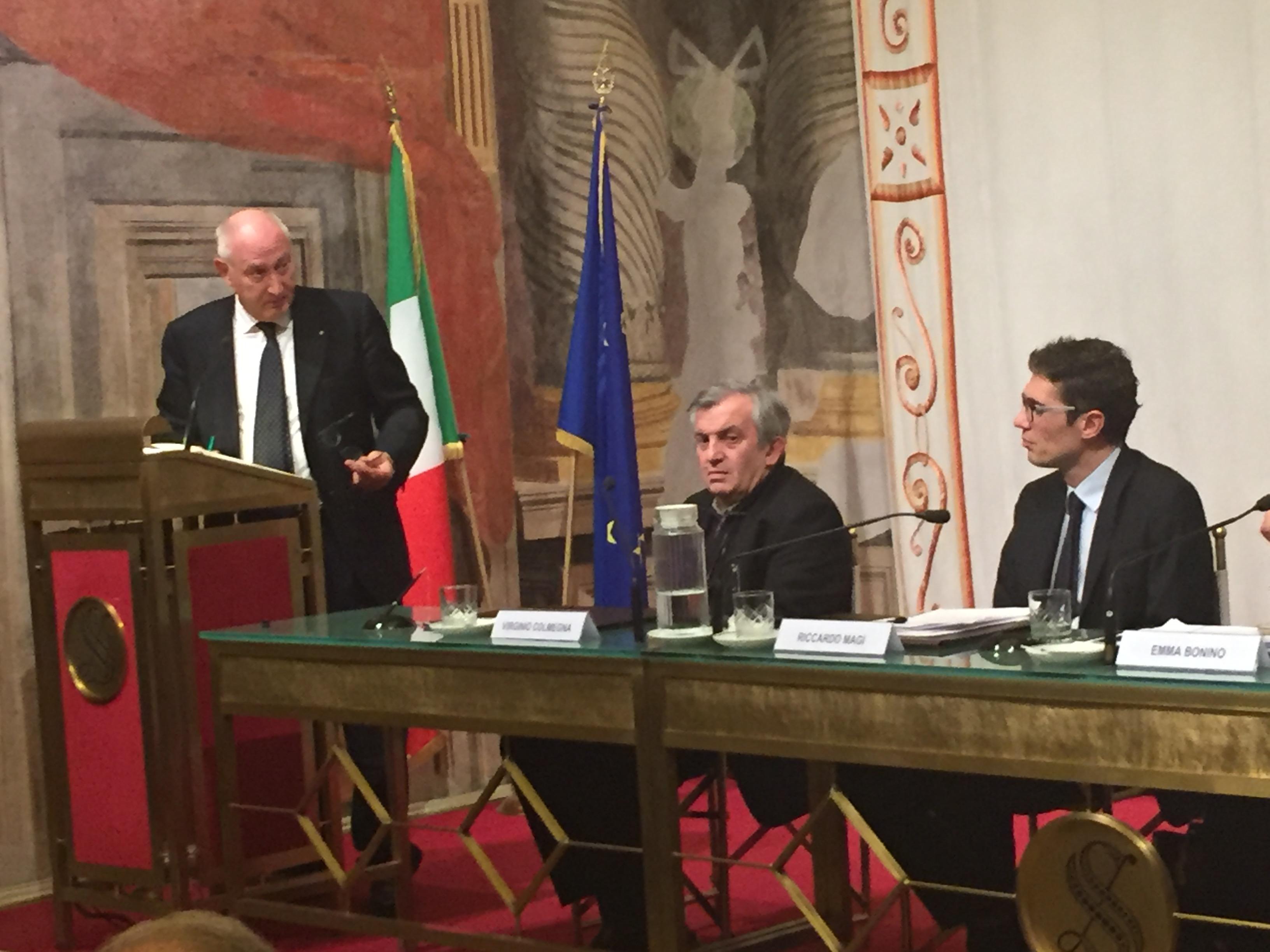 Intervento Capo Dipartimento Mario Morcone