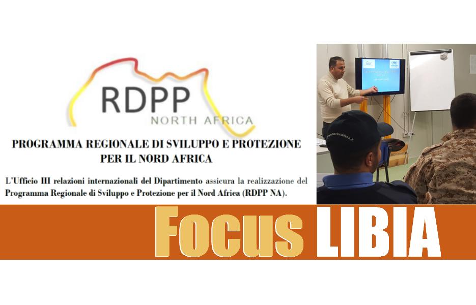 Programma Regionale di Sviluppo e Protezione per il Nord Africa: focus LIBIA