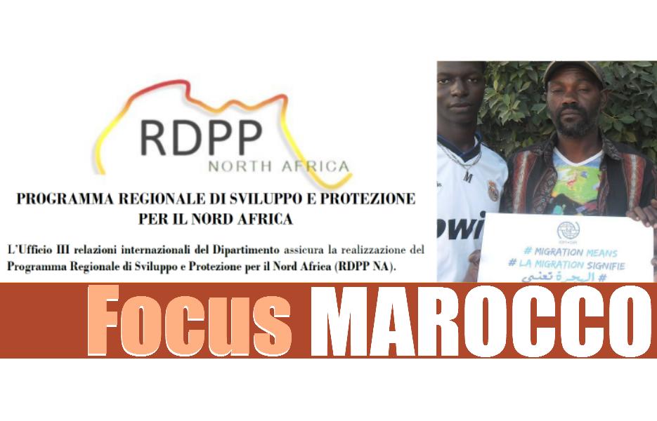Programma Regionale di Sviluppo e Protezione per il Nord Africa: focus MAROCCO