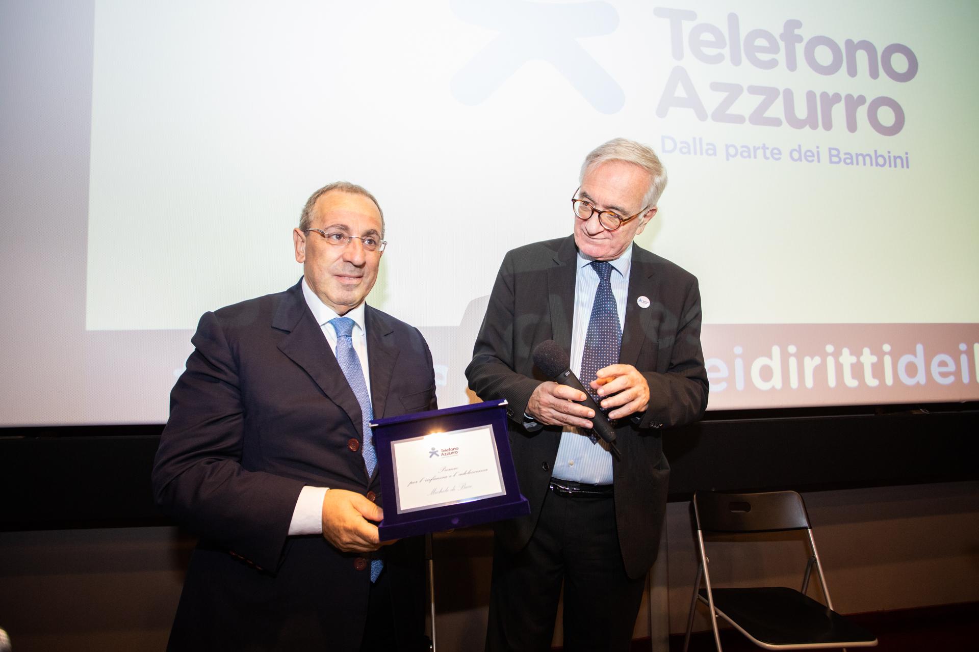 Foto del Prefetto Michele di Bari © TelefonoAzzurro
