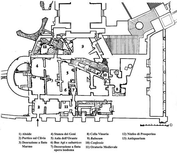 case romane al celio