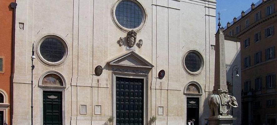 La basilica di Santa Maria sopra Minerva